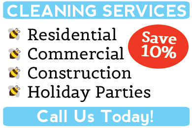 Bee-Dazzled - Cleaning Services Special